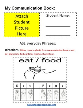 ASL 20 Everyday Phrases