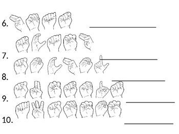 ASL Activity: Unscramble Fingerspelled Words