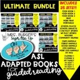 ASL Adapted Books ULTIMATE BUNDLE