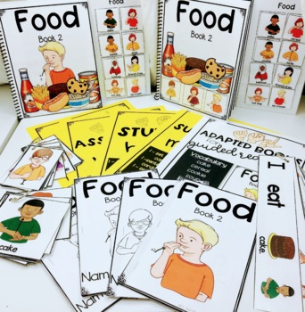ASL Adapted Books for Guided Reading FOOD BOOK  2
