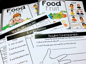 ASL Adapted Books for Guided Reading FRUIT