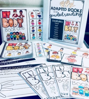 ASL Adapted Books for Guided Reading MY BODY BOOK 1