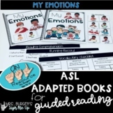 ASL Emotions Adapted Books for Guided Reading