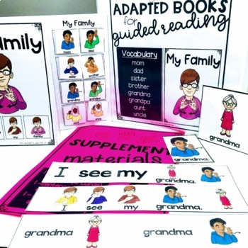 ASL Adapted Books for Guided Reading MY FAMILY
