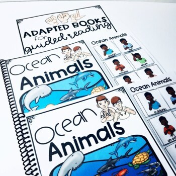 ASL Adapted Books for Guided Reading Ocean Animals