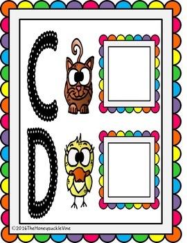 ASL Alphabet Activity Mats
