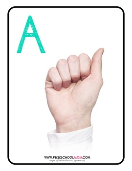 ASL Alphabet Activity Pack