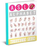 ASL Alphabet Activity Pack