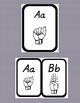 ASL Alphabet Cards