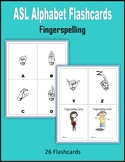 ASL Alphabet Flashcards (Fingerspelling)