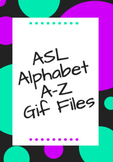 ASL Alphabet Gif files A-Z