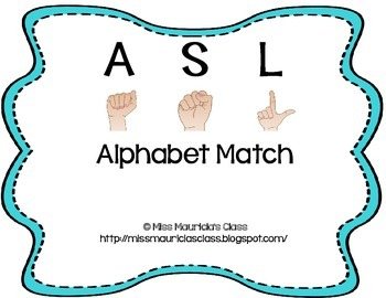 ASL Alphabet Match