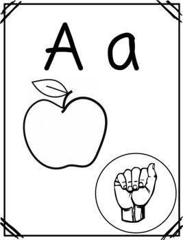 ASL Alphabet & Number Cards/Posters | Phonics BUNDLE | American Sign Language