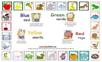 ASL Alphabet & Colors Placemat