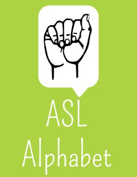 ASL Alphabet Posters