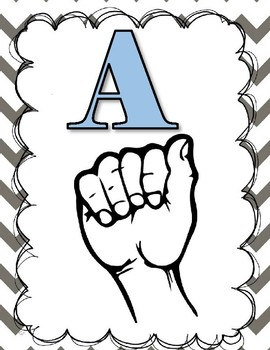 ASL Alphabet Resources