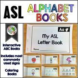 ASL American Sign Language Alphabet Books