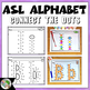 ASL American Sign Language Connect the Dots - Alphabet