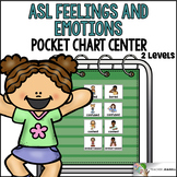 ASL American Sign Language Feelings and Emotions Pocket Ch