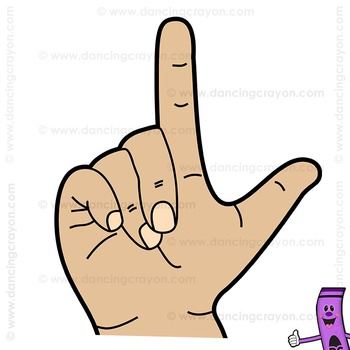 Clip Art American Sign Language | ASL Clipart