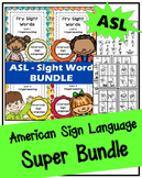 ASL - American Sign Language - SUPER BUNDLE