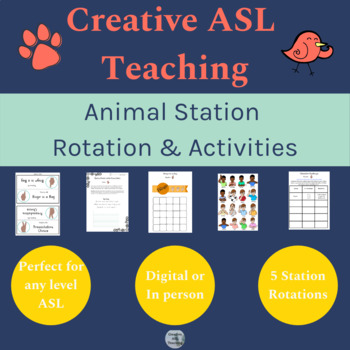 photograph about Asl Animal Signs Printable called Asl Pets Worksheets Instruction Elements Academics Fork out