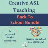 ASL Back to School Bundle