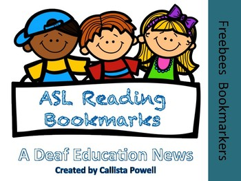 ASL Bookmark