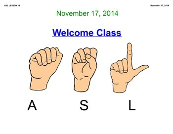 ASL COLORS