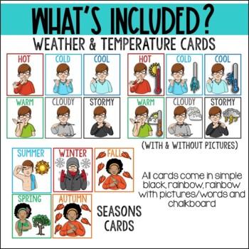 ASL Calendar Time Set for Special Education