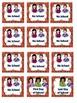 ASL Classroom Calendar Sets in Orange Color
