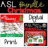 ASL Christmas Activities BUNDLE