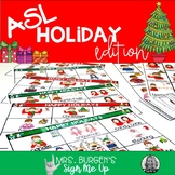 ASL Christmas Activities