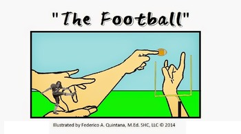 """ASL Classifier """"The Football Game"""" Poster"""