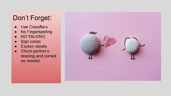 ASL Classifiers Describe and Draw Activity: Valentine's Day