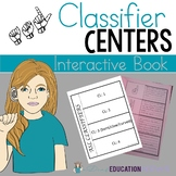 ASL Classifiers interactive Notebook and Vocabulary activity