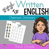 ASL Classroom Dictionary Set Five