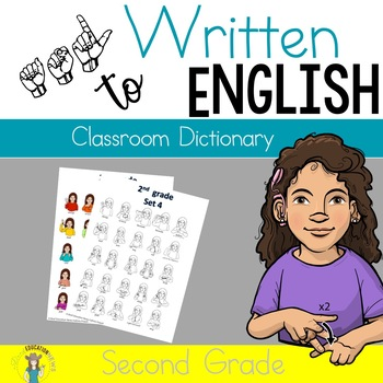 ASL Classroom Dictionary Set Four