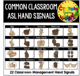 ASL Classroom Hand Signals