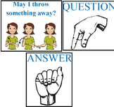 ASL Classroom Management signs