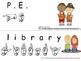 ASL Classroom Signs