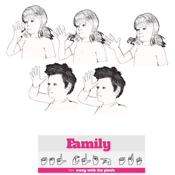 ASL Clip Art For Commercial Use -Family Signs Pack 1 Realistic Clip Art