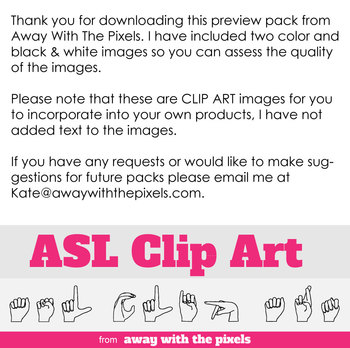 ASL Clip Art For Commercial Use - Valentine's Day Signs Realistic Clip Art