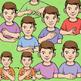 ASL Clip Art Set - Body Parts (Part 2) - Personal Use License