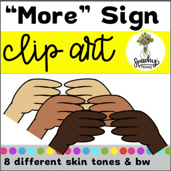 Asl Clipart More Sign Language By Speechy Things Tpt