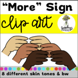ASL Clipart - More - Sign Language
