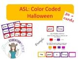 ASL Color Code Halloween