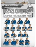 ASL Context Clues Exercise