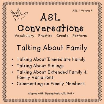 ASL Conversations (ASL 1, Volume 4)