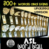 ASL DOLCH WORD WALL BUNDLE